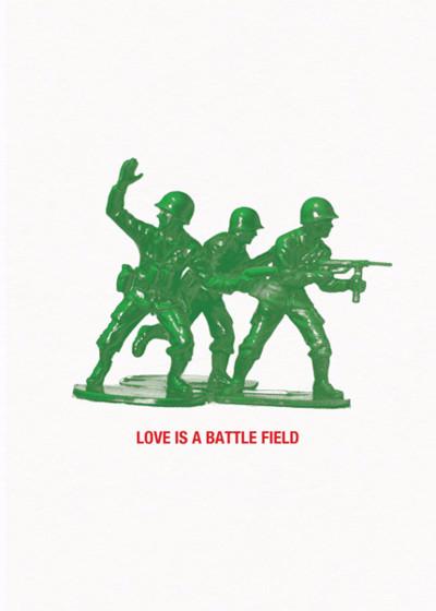 Battlefield | Personalised Greeting Card