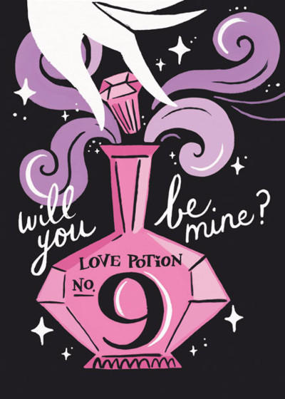 Love Potion | Personalised Greeting Card