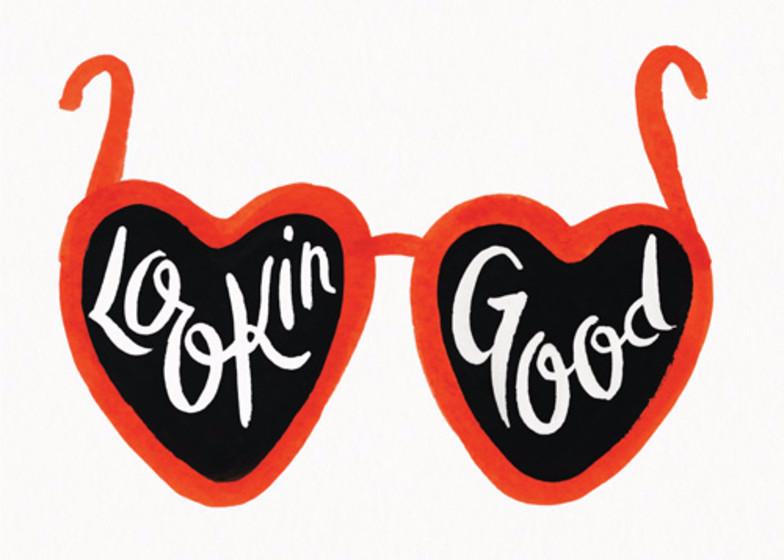 Lookin' Good | Personalised Greeting Card