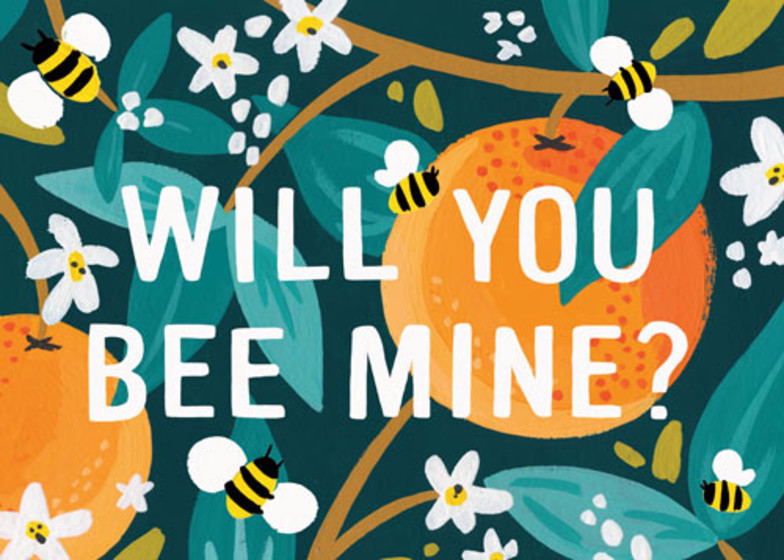 Bee Mine | Personalised Greeting Card