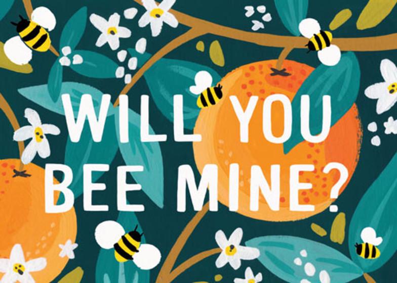 Bee Mine | Personalised Greeting Card