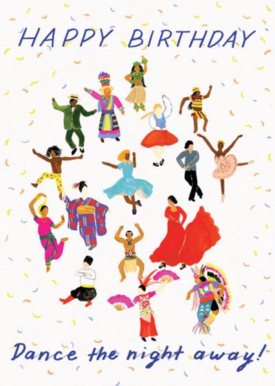 Dance The Night Away | Personalised Birthday Card