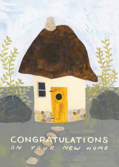 Cob House | Personalised Congratulations Card