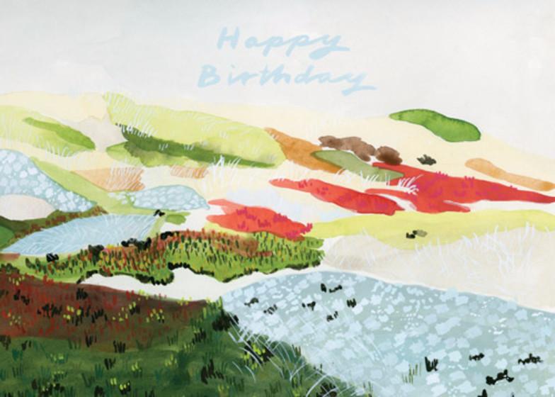 Beach Turf Birthday | Personalised Birthday Card