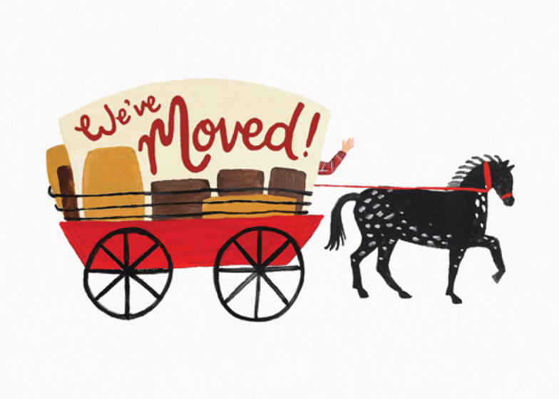 Alamo   Personalised Moving Announcement