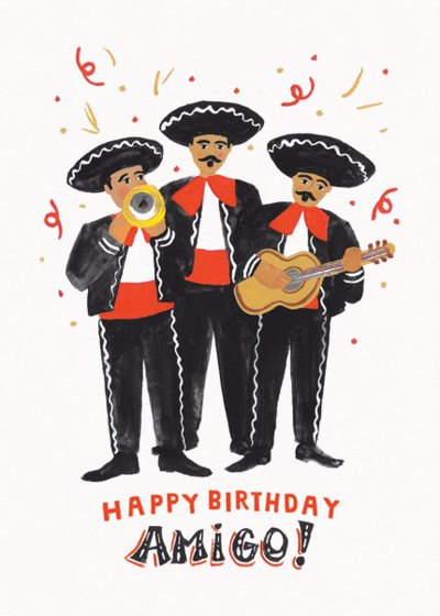 Amigos | Personalised Birthday Card