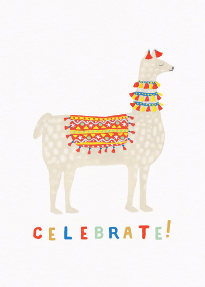 Alpaca | Personalised Birthday Card