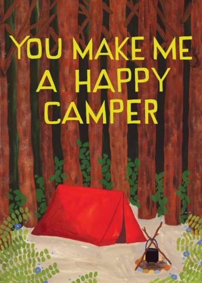 Happy Camper | Personalised Greeting Card