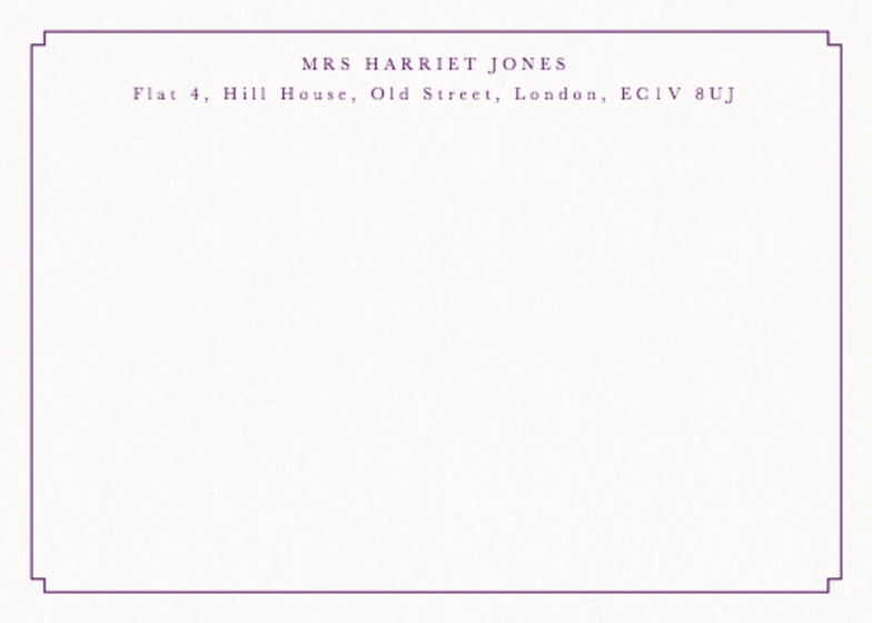 Calverley Border | Personalised Stationery Set