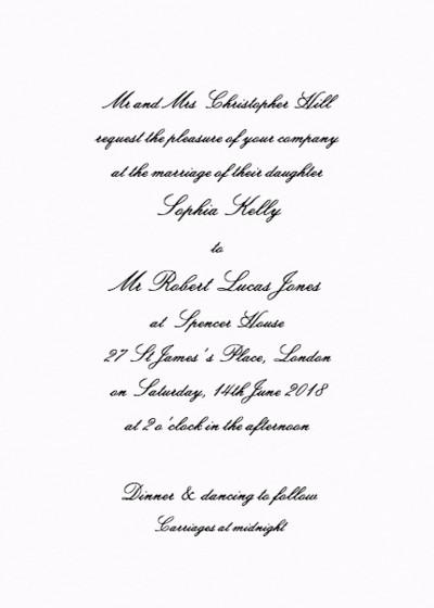 L'Ambassadeur | Personalised Wedding Suite