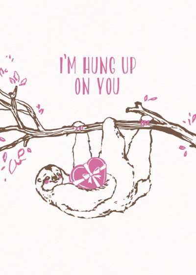 Sloth | Personalised Greeting Card