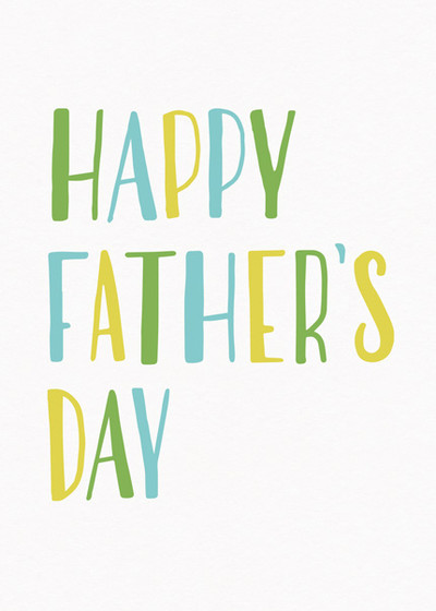 Happy Father's Day | Personalised Greeting Card