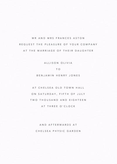 La Duchesse | Personalised Wedding Suite