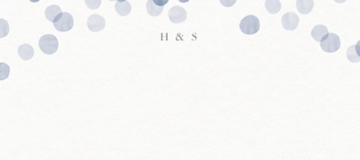 Dusk Confetti   Personalised Place Name