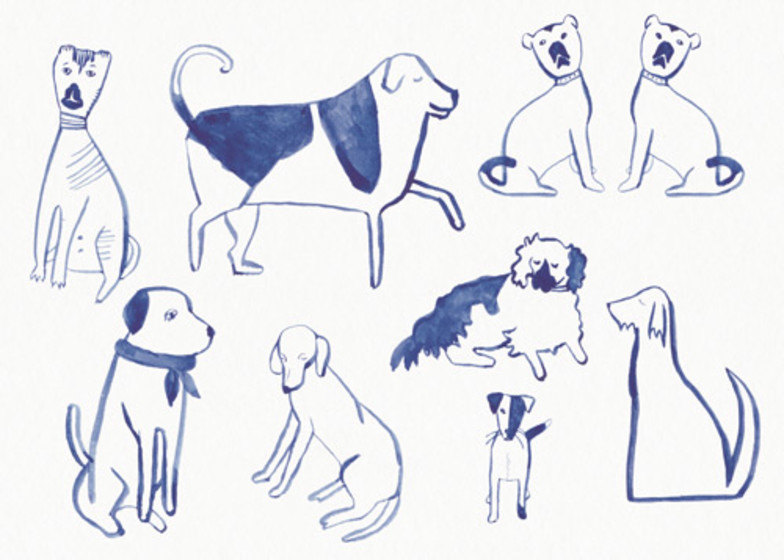 Posh Dogs | Personalised Greeting Card