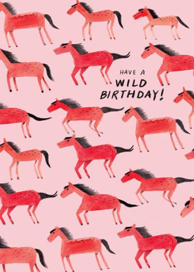 Wild Birthday | Personalised Birthday Card