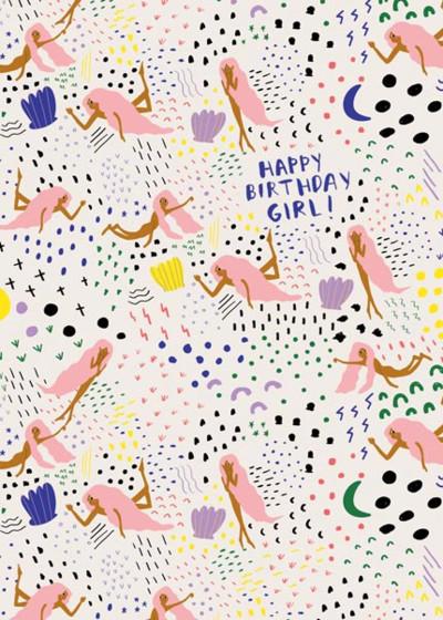 Venus Was Her Name | Personalised Birthday Card