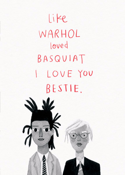 Besties | Personalised Greeting Card