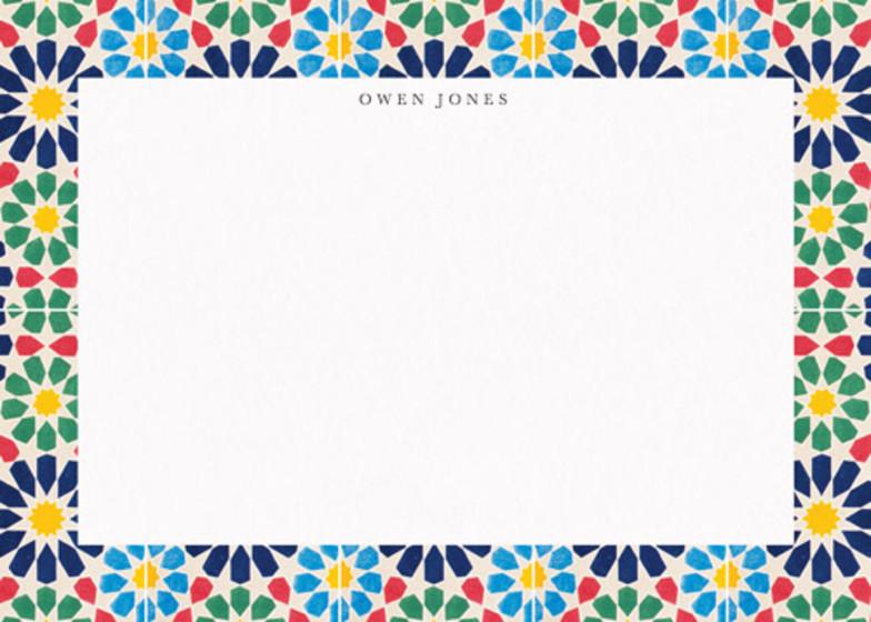 Alhambra Flowers | Personalised Stationery Set