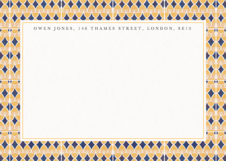 Egyptian Scrolls | Personalised Stationery Set