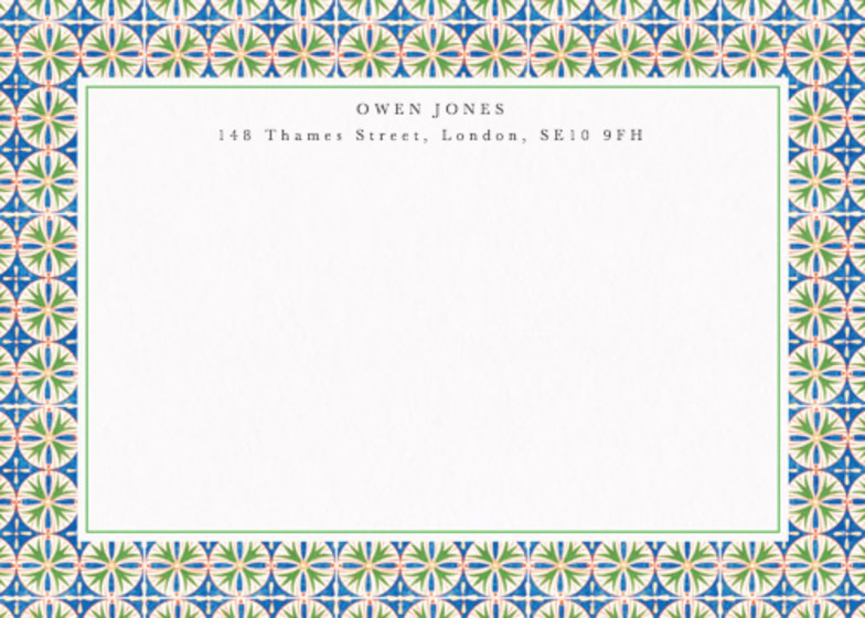 Egyptian Lotus | Personalised Stationery Set