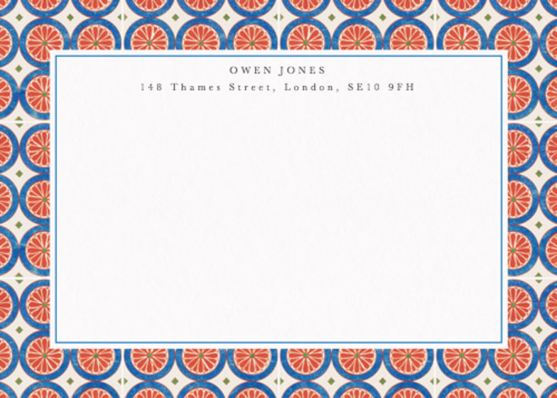 Thebes | Personalised Stationery Set
