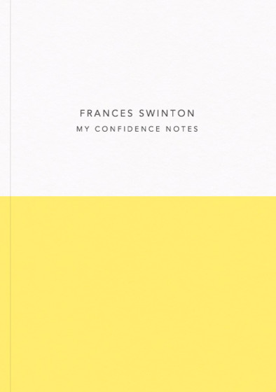 Demi Yellow - Confidence Notes | Personalised Lined Notebook