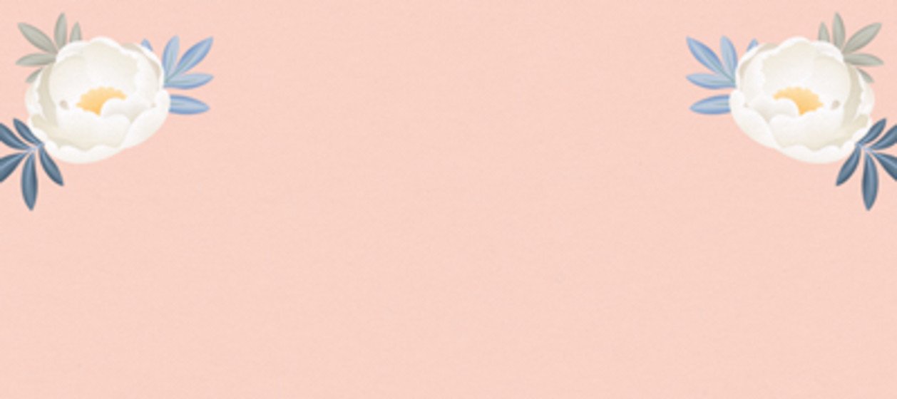 Blush Peonies | Personalised Place Name