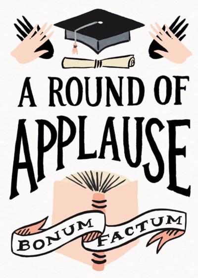 Bonum Factum | Personalised Congratulations Card