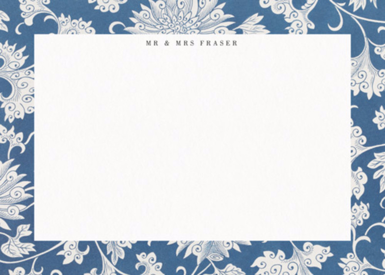 Chinese Chrysanthemum | Personalised Stationery Set
