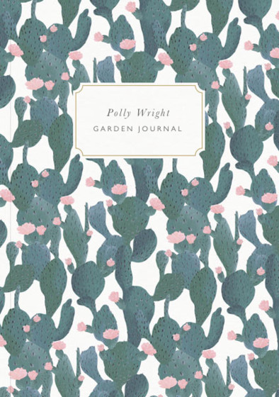 Flowering Cacti | Personalised Lined Notebook