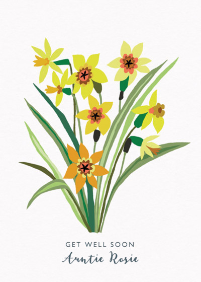 Daffodils | Personalised Greeting Card