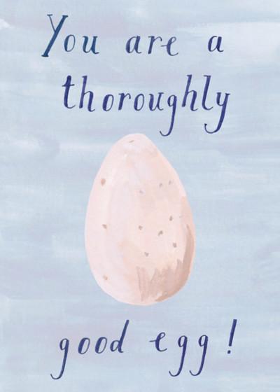 Good Egg | Personalised Birthday Card