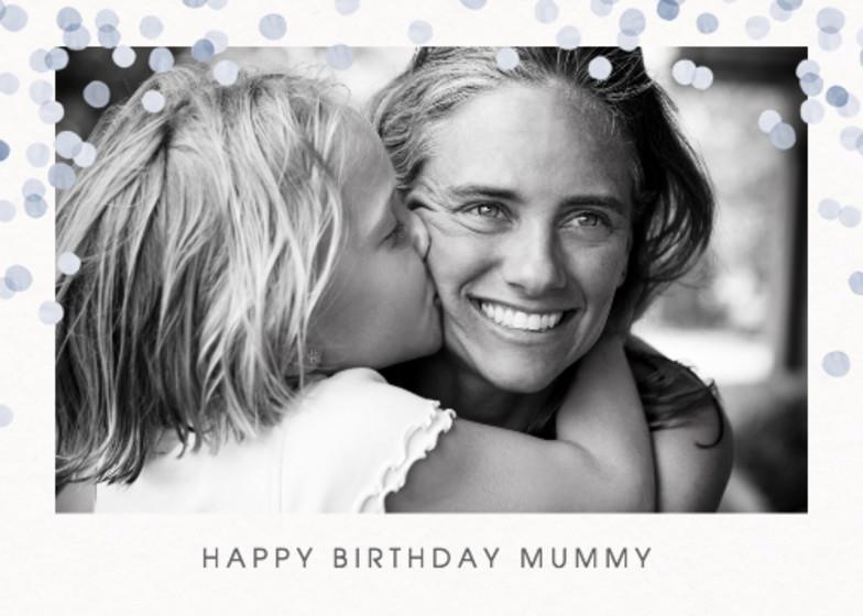 Dusk Confetti | Personalised Birthday Card