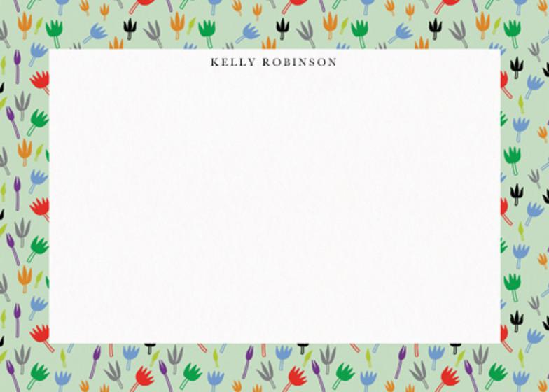 Moominvalley Flowers | Personalised Stationery Set
