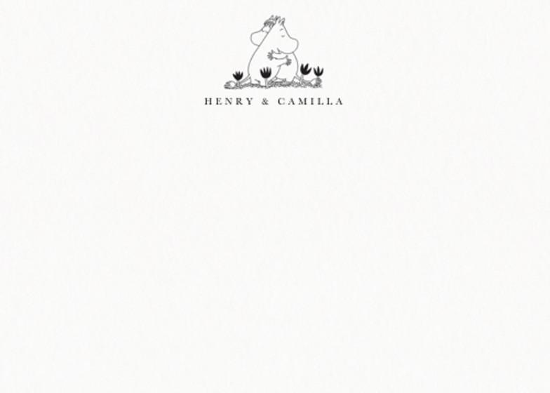 Moomin Love   Personalised Stationery Set