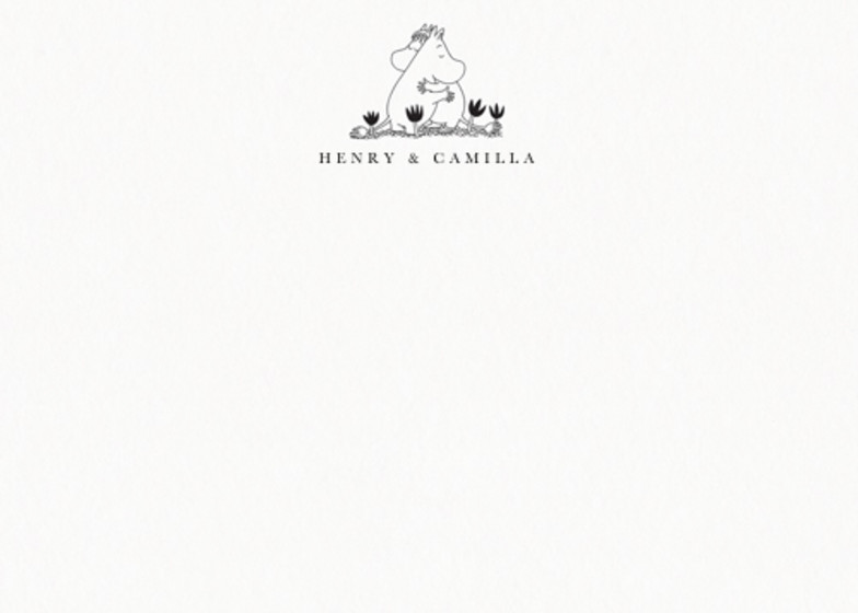 Moomin Love | Personalised Stationery Set