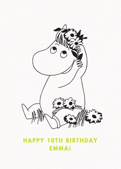 Snorkmaiden | Personalised Birthday Card