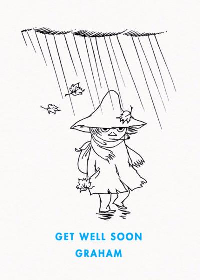 Wandering Snufkin | Personalised Greeting Card
