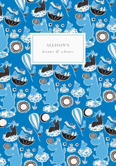Moomin Dream | Personalised Lined Notebook