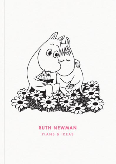 Moomin Hug | Personalised Lined Notebook