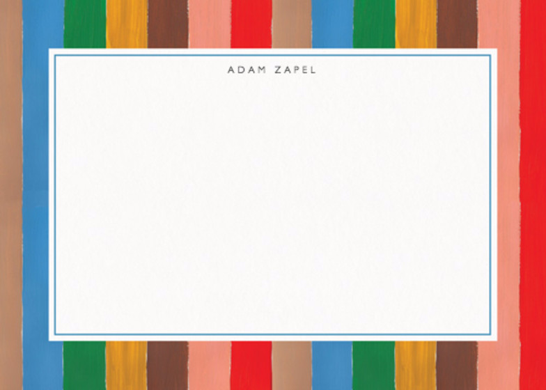 Carrousel Stripe | Personalised Stationery Set