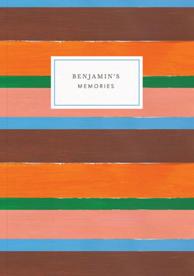 Vagabond Stripe | Personalised Lined Notebook