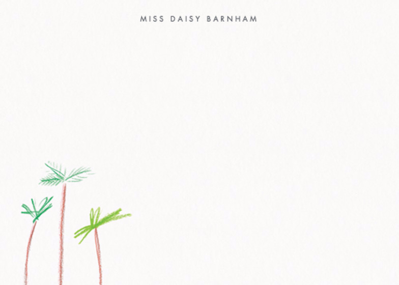 LA Palms | Personalised Stationery Set