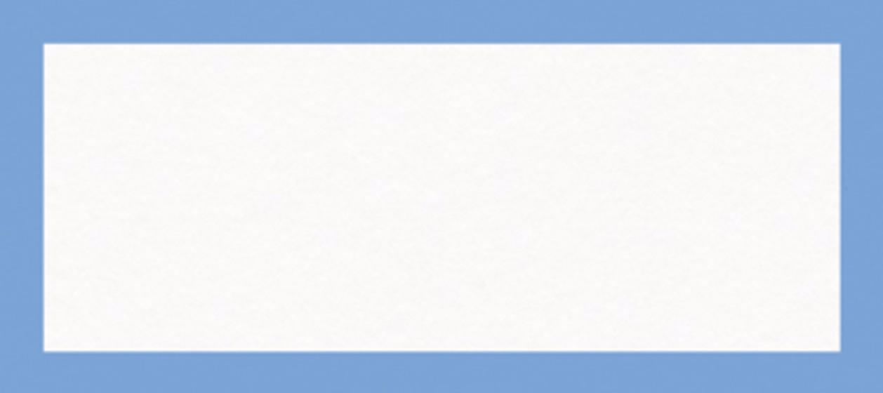 cornflower blue border place name papier