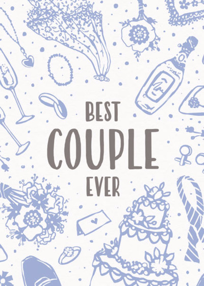 Best Couple Ever | Personalised Congratulations Card