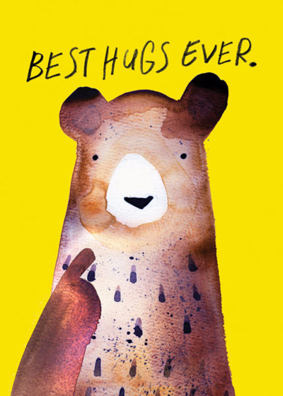 Best Hugs Ever | Personalised Birthday Card