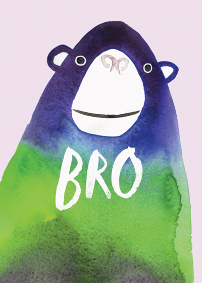 Bro | Personalised Birthday Card