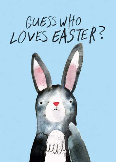 I Love Easter | Personalised Greeting Card