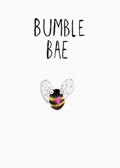 Bumble Bae | Personalised Greeting Card